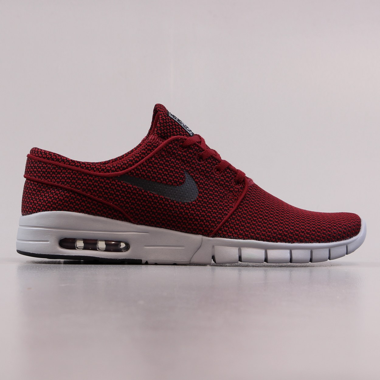 3066902f36 Nike SB Stefan Janoski Max Shoes Team Red Black Wolf Grey Trainer £71.25