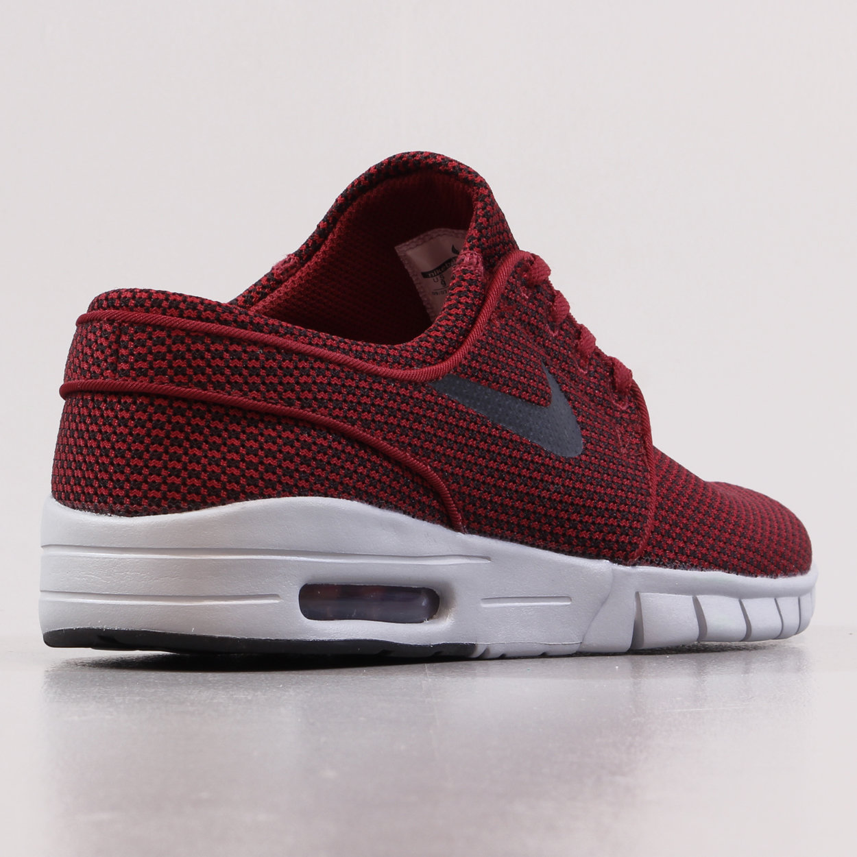 the best attitude 42007 3d777 Stefan Janoski Max trainers in red and black with mesh uppers, lightweight  and stylish. Nike SB
