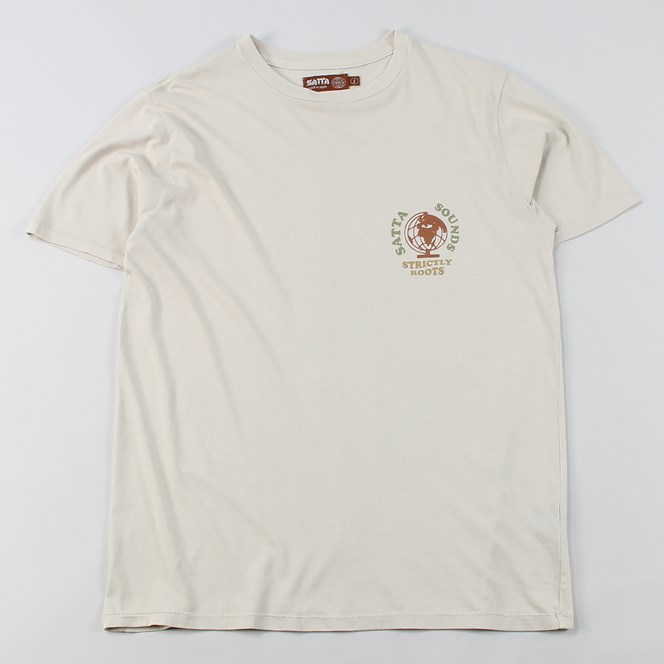 Satta Skateboards Strictly Roots T Shirt Calico