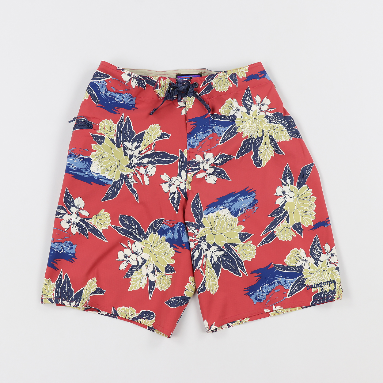fc3256b071 Patagonia Stretch Planing Boardshorts 20 Cleanest Line Static Red £52.50