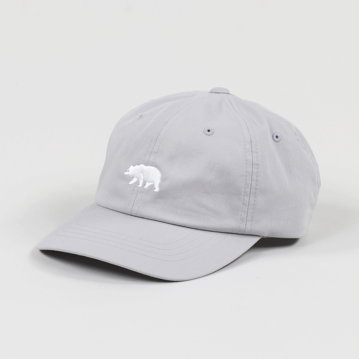 The North Face Mens The Norm Hat Mid Grey White Bear
