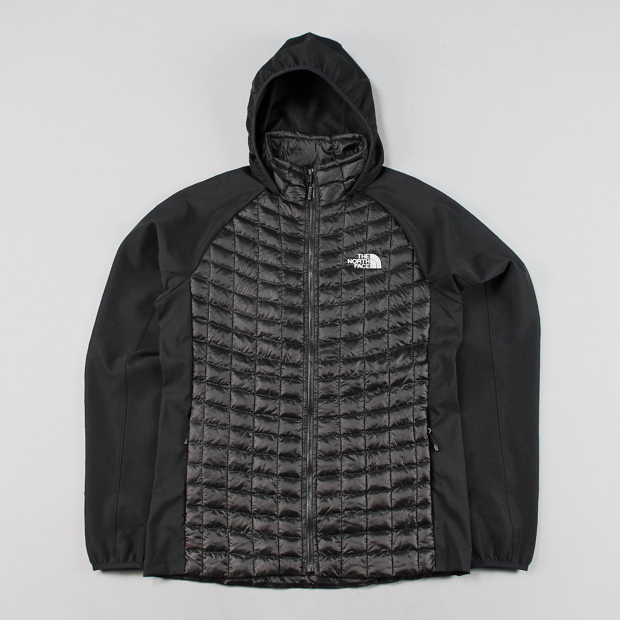 The north face thermoball hybrid mans jacket black coat hoodie £127.50 138b73df2a