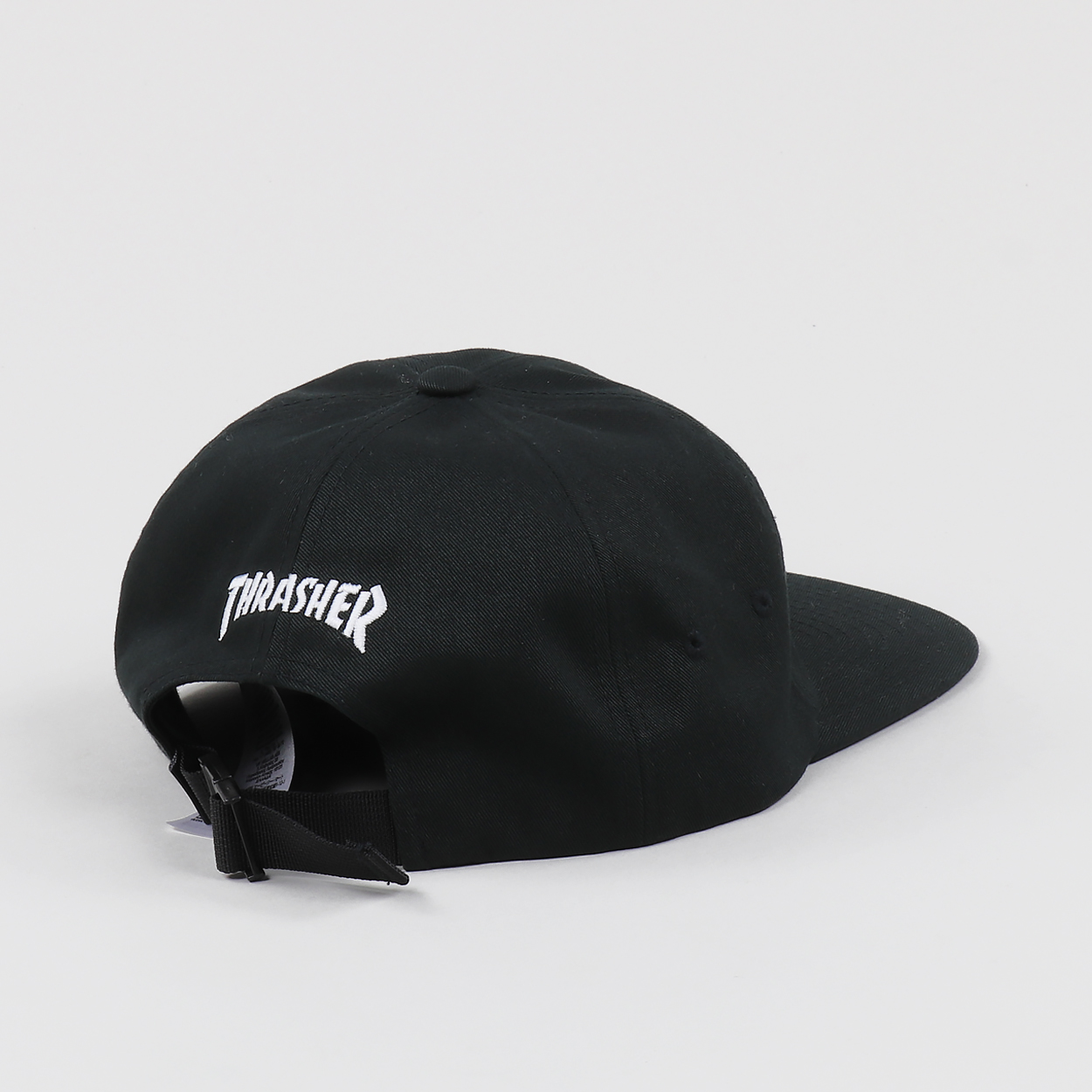 An awesome lightweight and soft 6-panel cap from the first ever Vans x  Thrasher Mag colab. Features Vans  skate logo on the front and Thrasher s  logo to the ... 3ce671fc1ad