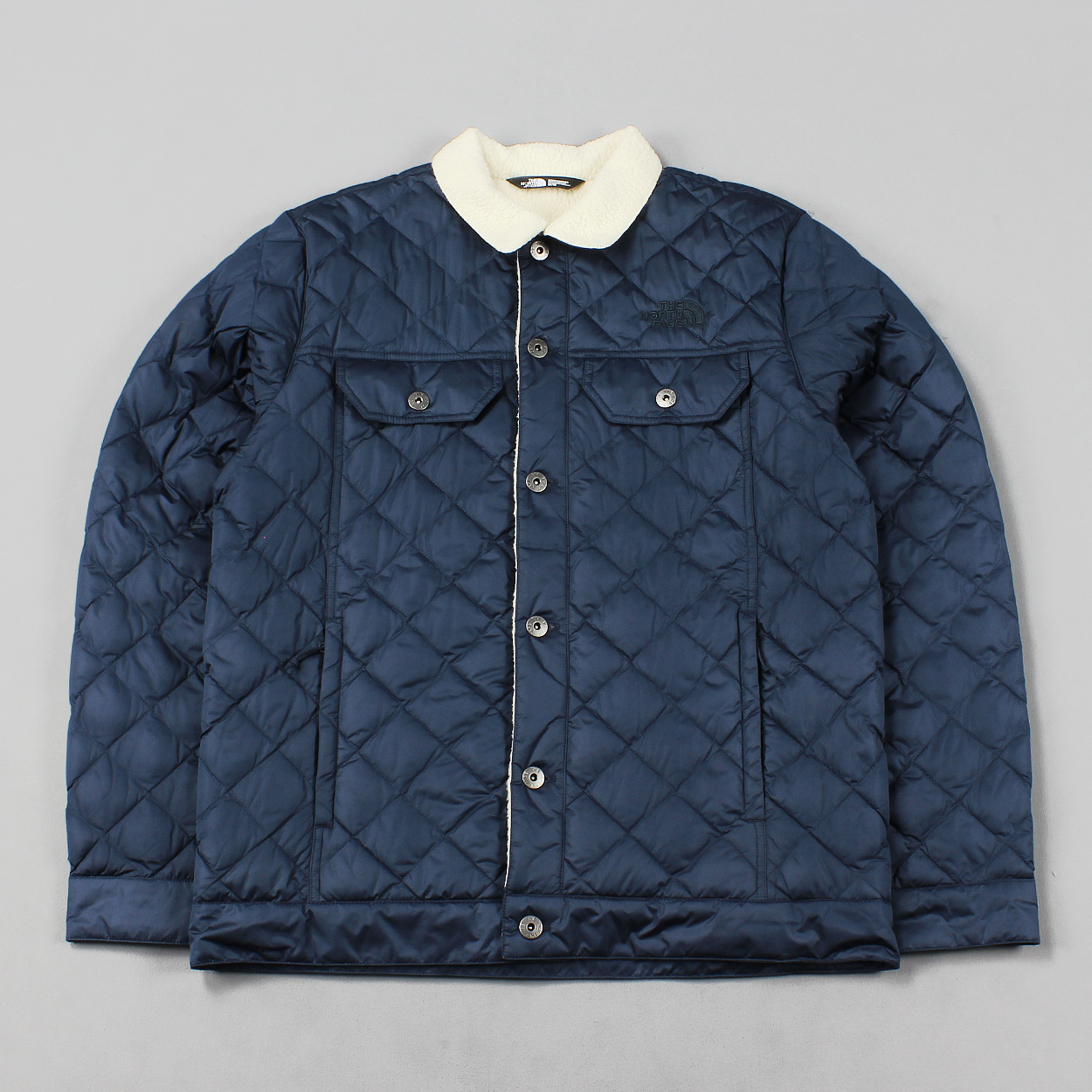 prezzo all'ingrosso comprare nuovo nuovo economico The North Face Mens TNF Sherpa Thermoball Quilt Jacket Urban Navy ...