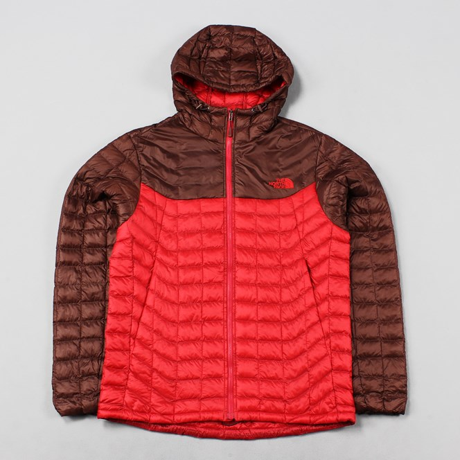 The North Face Thermoball Hoodie TNF Red Sequoia Red