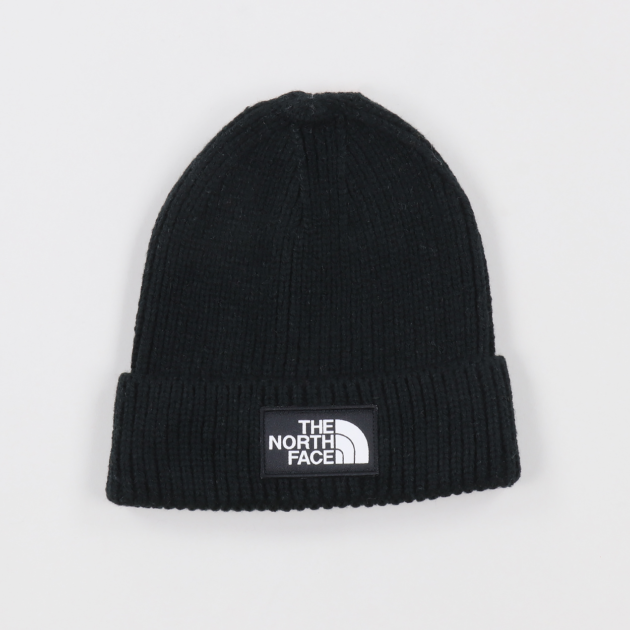 a59ee992 The North Face Mens Outdoor Logo Box Cuff Beanie Hat Black £22.50