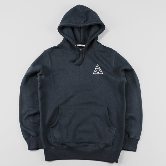 Huf Triple Triangle Pullover Hoody Navy