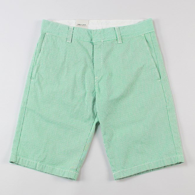 Carhartt Unit Bermuda Short Green Stripe