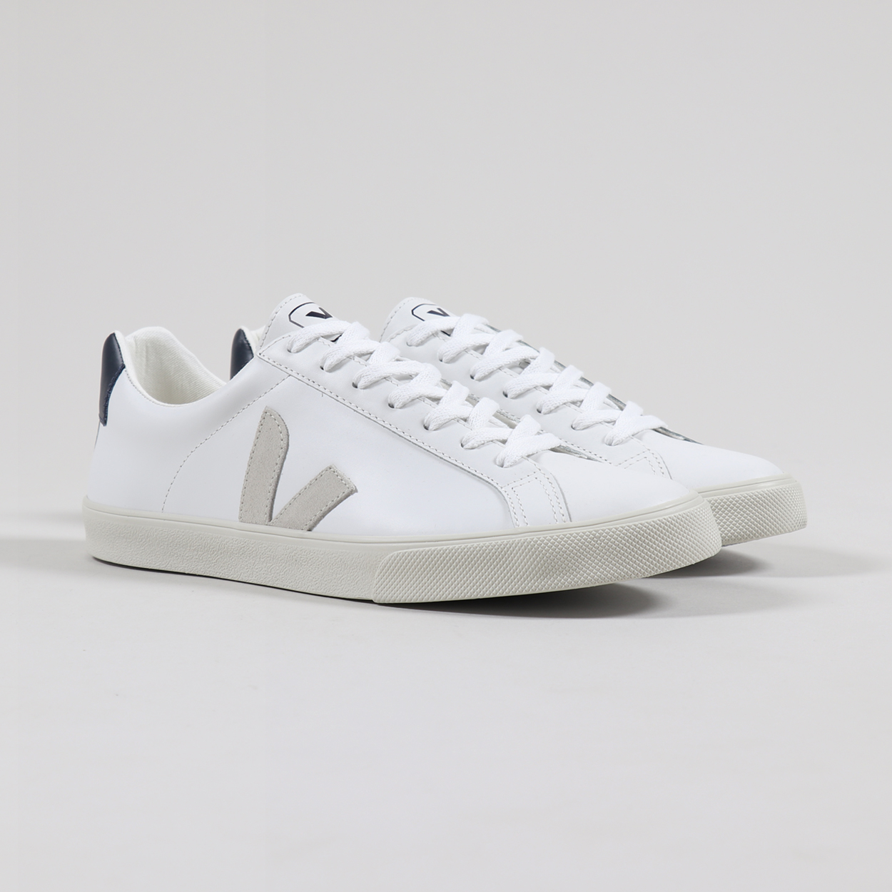 Leather Shoes Extra White Natural Nautico