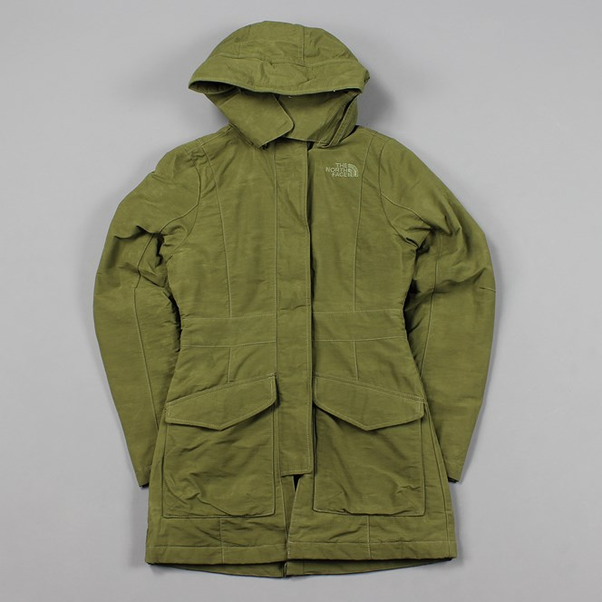 The North Face Womens Arada Jacket Burnt Olive Green