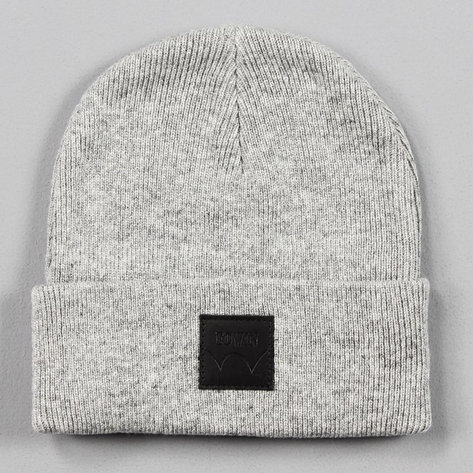Edwin Watch Cap Beanie Grey Marl
