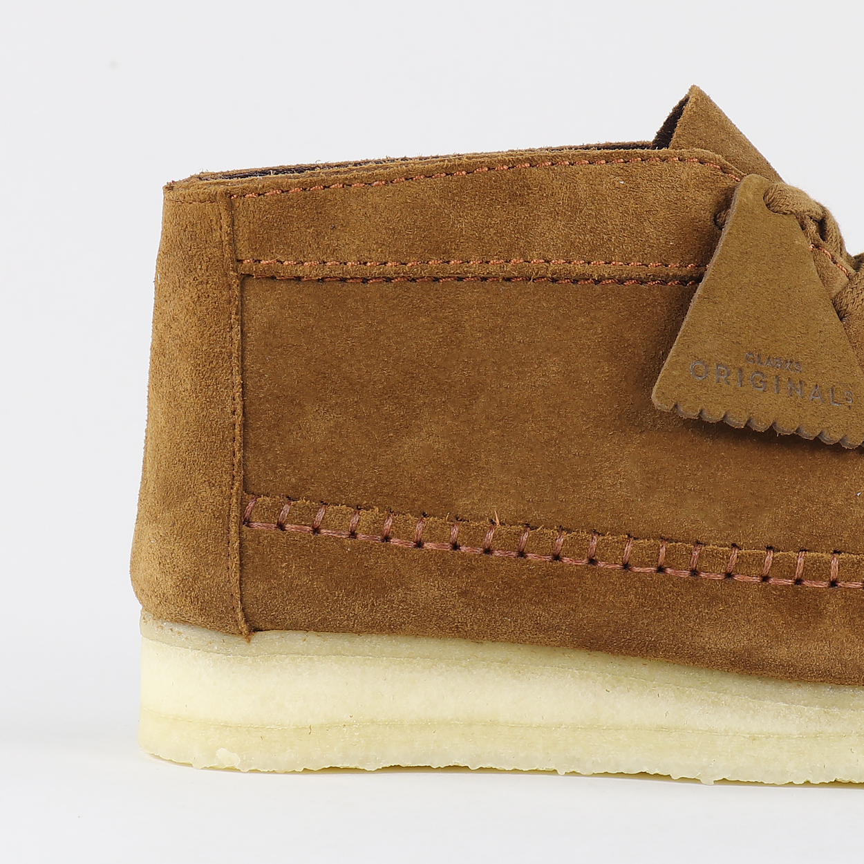 731bc0c0332 The Clarks Originals Weaver gets a slight extension to give us the Weaver  Boot. High quality suede is used for the upper, which sits on Clarks'  signature ...