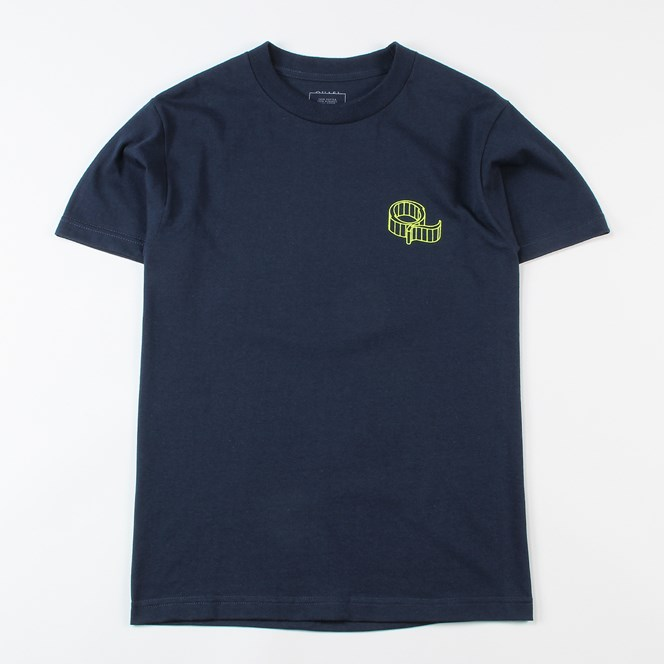 Quasi Skateboards Wired T Shirt Navy