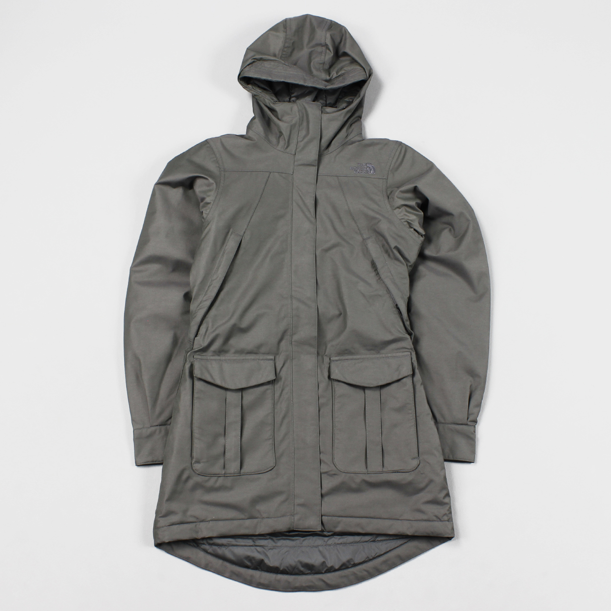 The North Face Outdoor Womens NSE Jacket Graphite Grey Parka