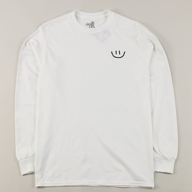 The Quiet Life Worry Long Sleeve T Shirt White