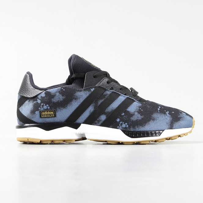 Adidas ZX Gonz Shoes Fade Ink Core Black Gum