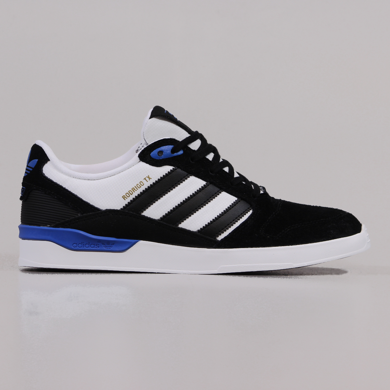 finest selection 4df69 92cb2 Adidas ZX Vulc Rodrigo TX Shoes Core Black FTW White Bluebird £50.25